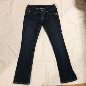 True Religion Hi-Rise Boot Jeans 27